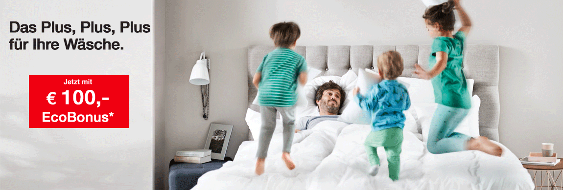 Miele Waschmaschinen und Trockner mit Eco Bonus um 100,- günstiger