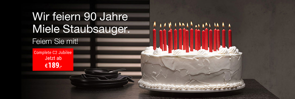 90 Jahre Miele Staubsauger